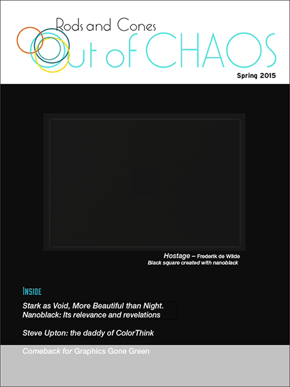 Out of Chaos: spring 2015: cover