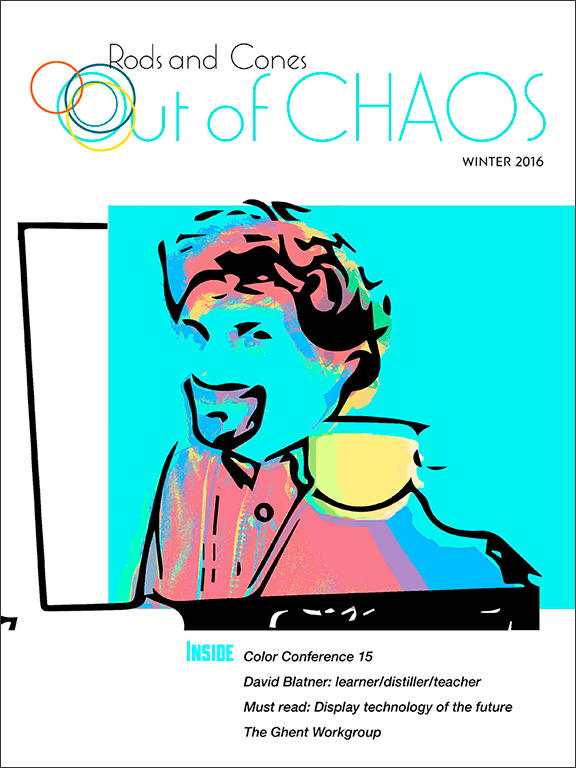 Out of Chaos: winter 2016: cover