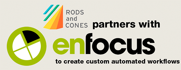 Rods and Cones partners with Enfocus
