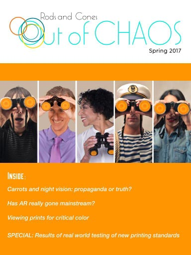 Out of Chaos: Spring 2017: cover